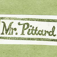 Mr Pittard by ROSE WILLIAMS