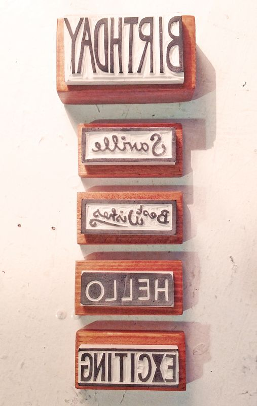 Selection of Hand-Cut Stamps by ROSE WILLIAMS