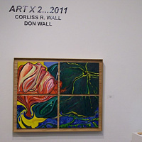 Real Wall Art Gallery...Art X 2 by Corliss R Wall