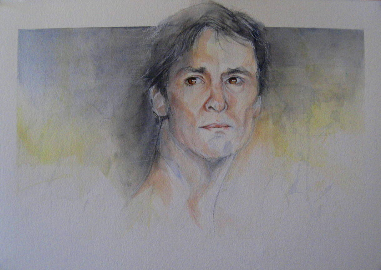 Watercolor Michael  by Judith  Elsasser