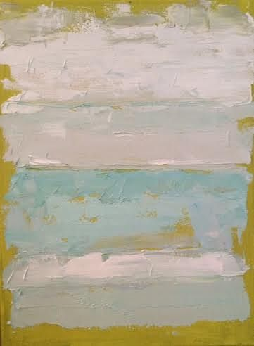 Oil painting Abstract I SOLD by Sarah Trundle