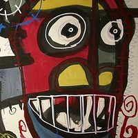 Mixed-media artwork Ericfpict by Joey Feldman