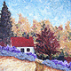 Oil painting French Country by Yvonne Shaffer