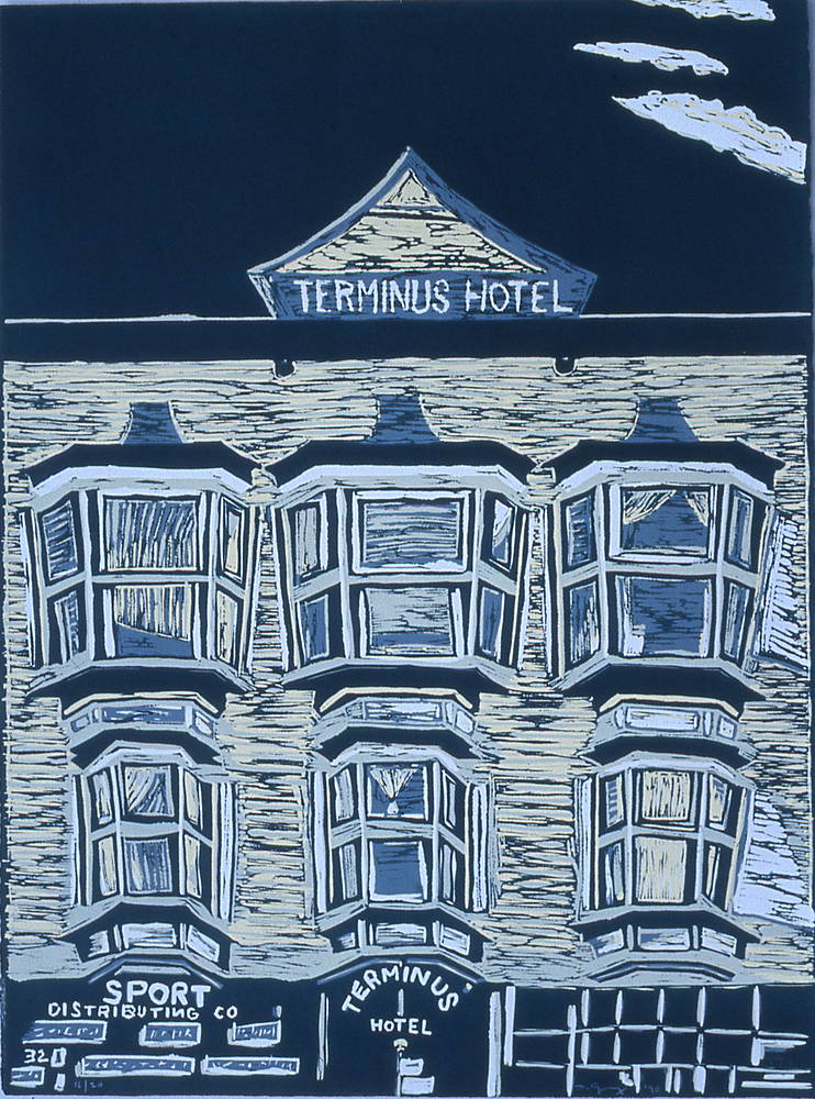 Terminus Hotel (Gastown) by Susan Gransby
