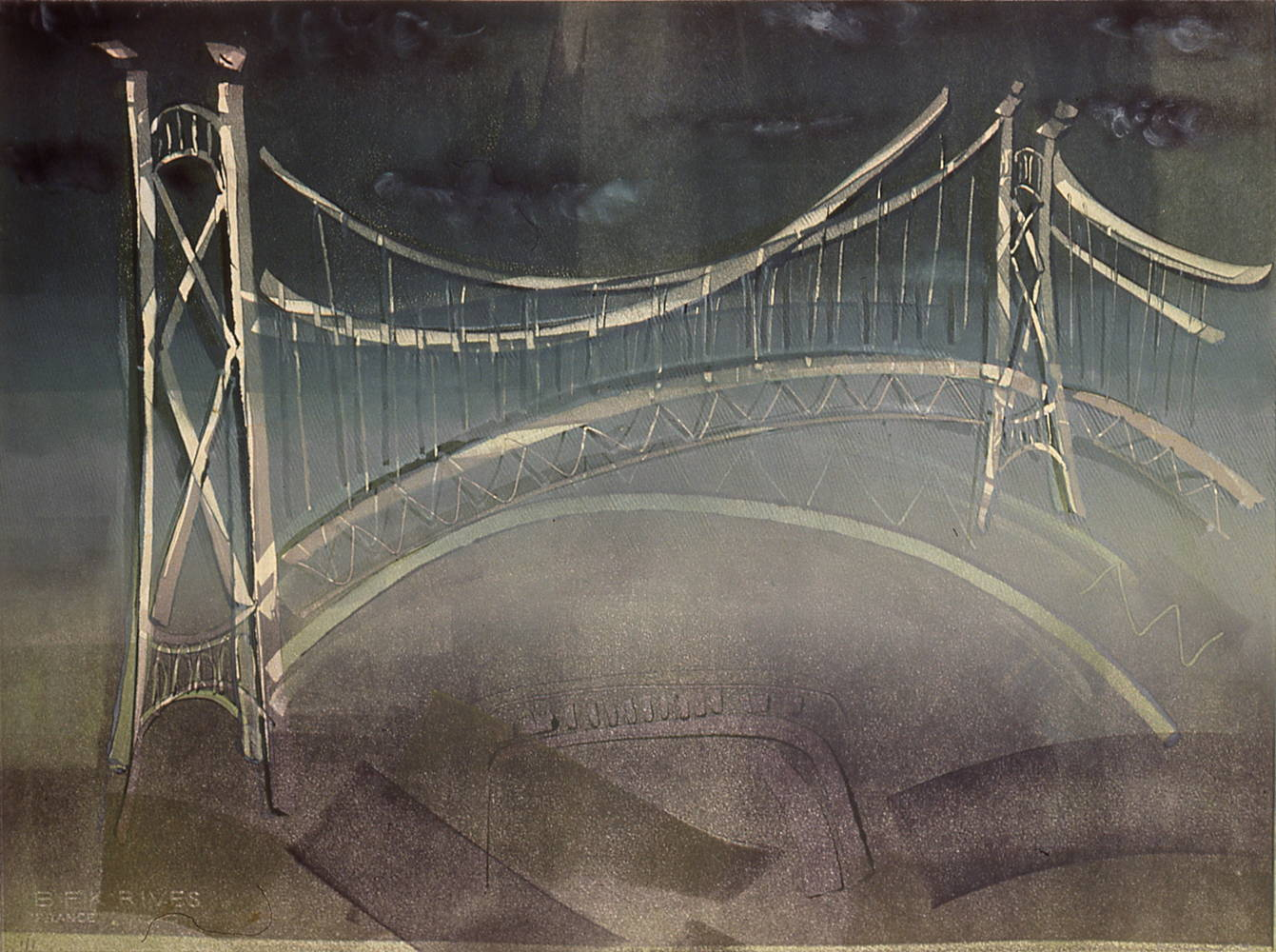 Lion's Gate Bridge by Susan Gransby