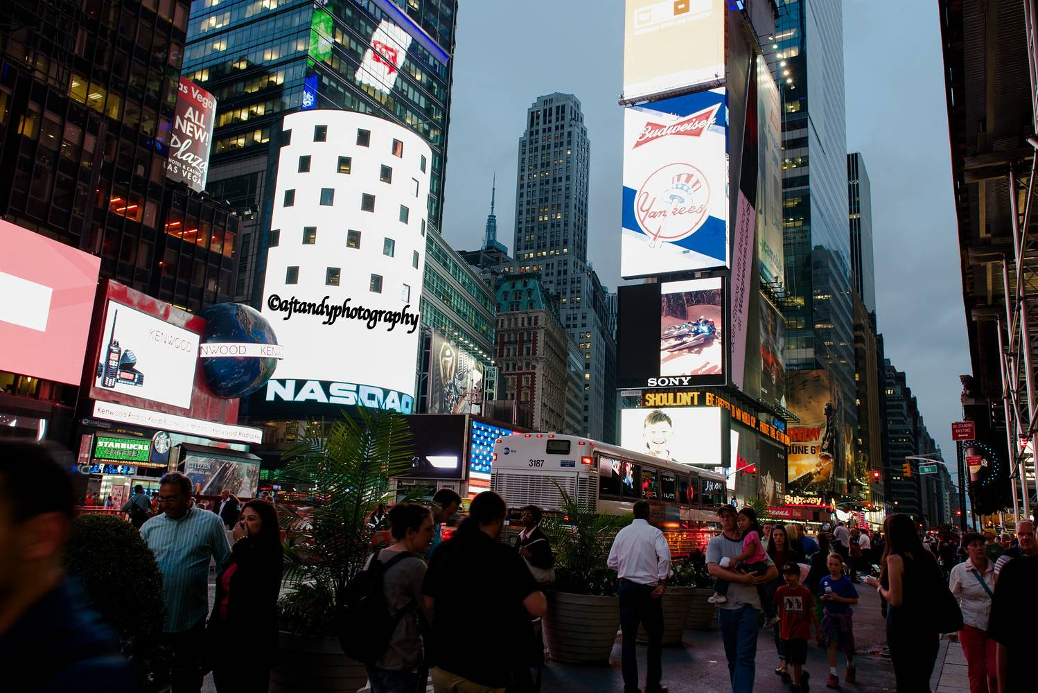 Time Square by Andy Humphrey