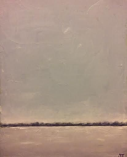 Oil painting Grey Day - SOLD by Sarah Trundle