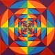 Acrylic painting SYMMETRY by Richard Robertson