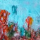 Acrylic painting Nature Nurture Series (8) by Deborah J Gorman