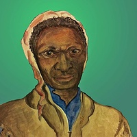 Watercolor Sojourner Truth by Anastasia O'melveny