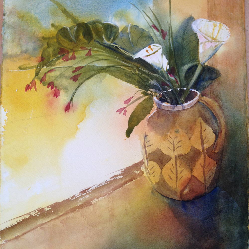 Taverna Lilies by Yvonne Foster