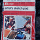1976-2026 book of sketches unseen by Ron Crowcroft