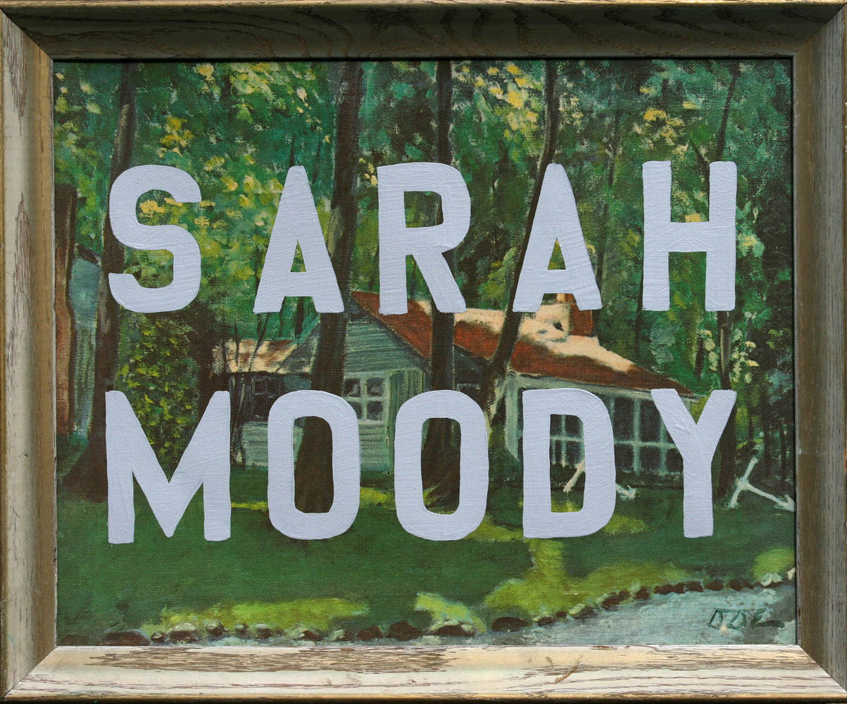 Sarah Moody (People Painting) by Ron Crowcroft
