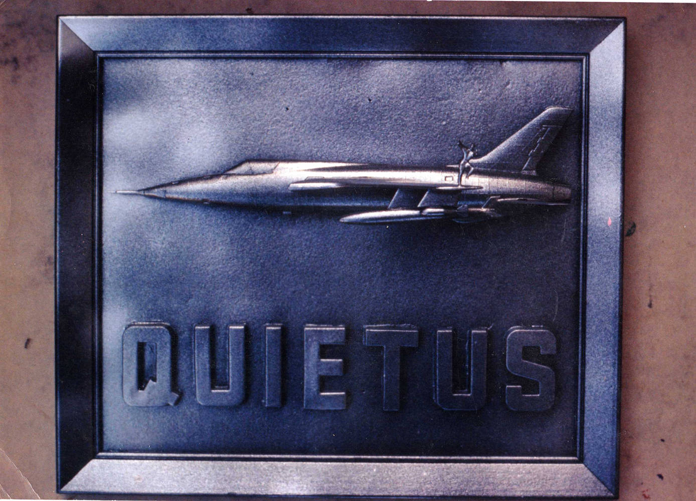 Quietus by Ron Crowcroft