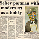 Selsey Postman newspaper article by Ron Crowcroft
