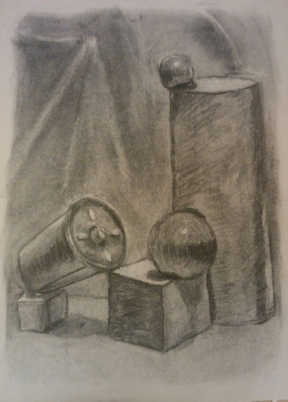 Drawing Still Life 4 by Matt Kantor