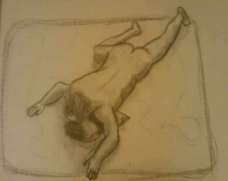 Drawing Study of the Human Body - Life Drawing 2 by Matt Kantor