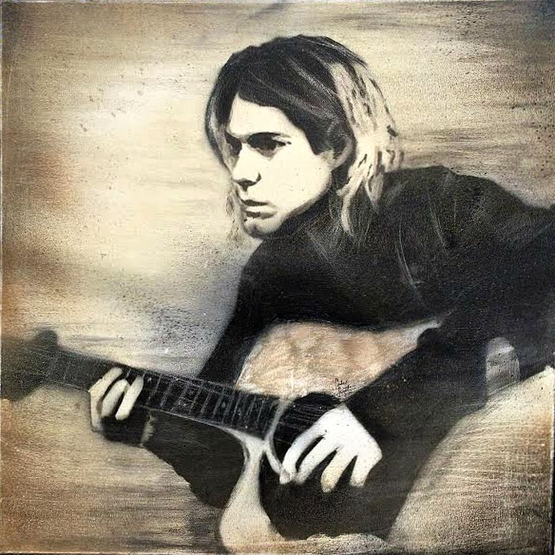 Kurt Cobain by Carly Jaye Smith