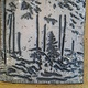 Into the Woods- raku tile by Michael  Gaudreau