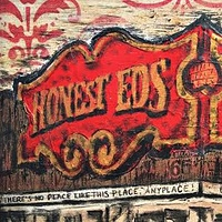 Acrylic painting Honest Ed's by Carly Jaye Smith