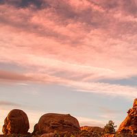 Sunset at Arches by William Kent