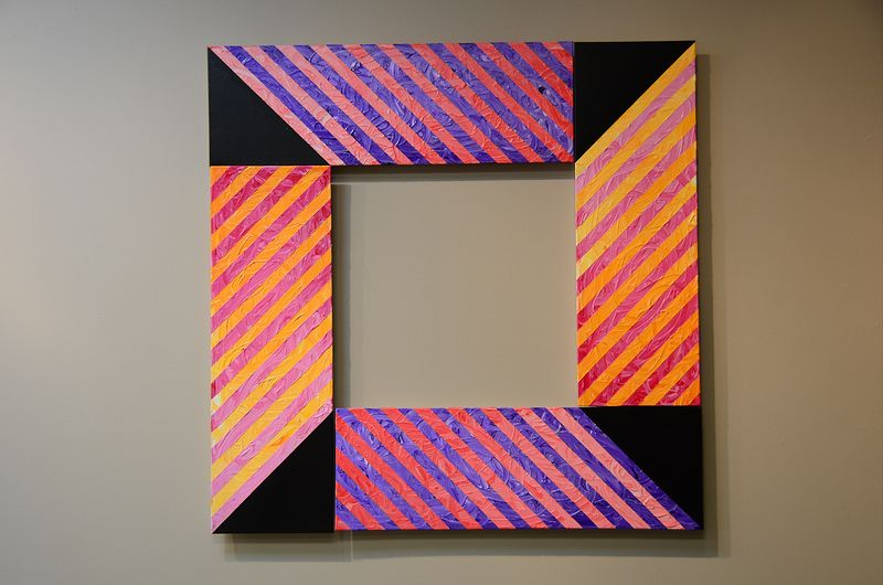 SQUARE CANDY - Acrylic on canvas by Reed Dixon