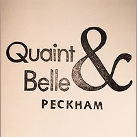 Rubber Stamp for Quaint & Belle, a gift shop in Peckham. by ROSE WILLIAMS