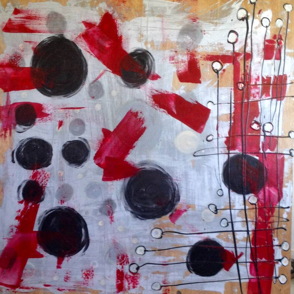 Painting Untitled 5 by Boyd Tizenor
