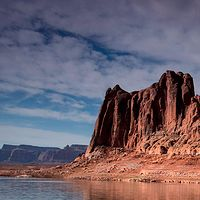 Lake Powell Reflection by William Kent