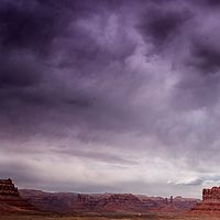 Valley of the gods getting wet by William Kent