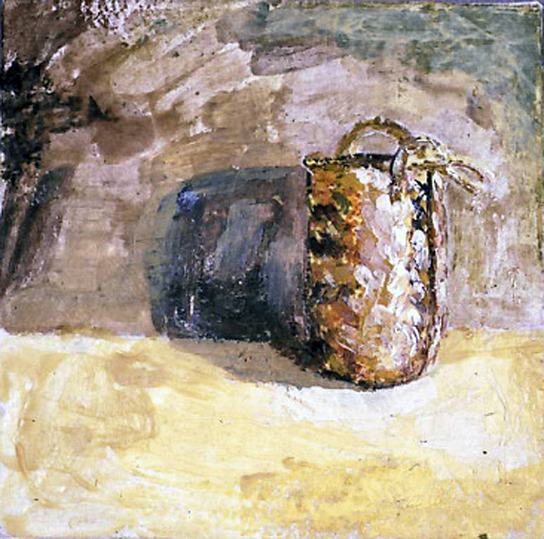 Basket and its Shadow (2003) by Maria Z Madacky