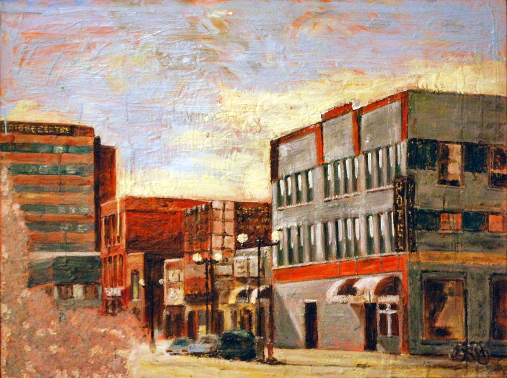 City on a Prairie (2004) by Maria Z Madacky