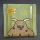 Monster Tile - Something Pretty for You by Leanne Schnepp