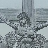 Drawing Jesus on the Cross by Matt Kantor