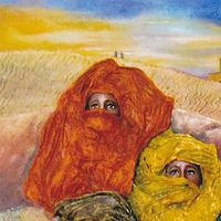 Oil painting Burkas, Turbans and Veils by Valerie Buttler