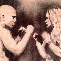 St. Pierre VS Rousey by Carly Jaye Smith