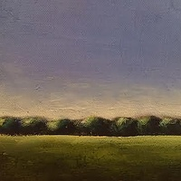 Oil painting Kristin's Landscape- SOLD by Sarah Trundle