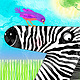Z is for Zack the Zebra by Valerie Lesiak