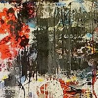 Acrylic painting Mirrors by Jeffrey Newman