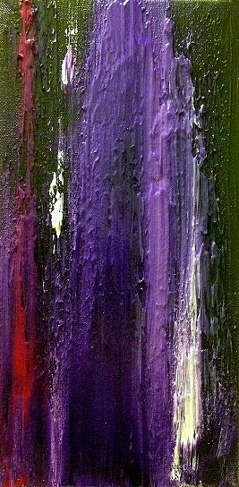 Acrylic painting Purple by Jeffrey Newman