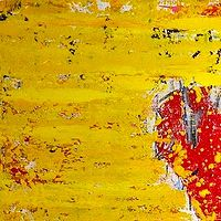Acrylic painting Heart by Jeffrey Newman