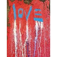 Acrylic painting Love by Jeffrey Newman