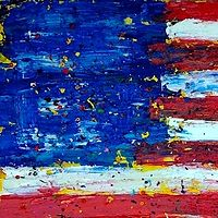 Acrylic painting Colors of a Union by Jeffrey Newman