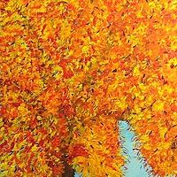 Fall Tree by Jeffrey Newman