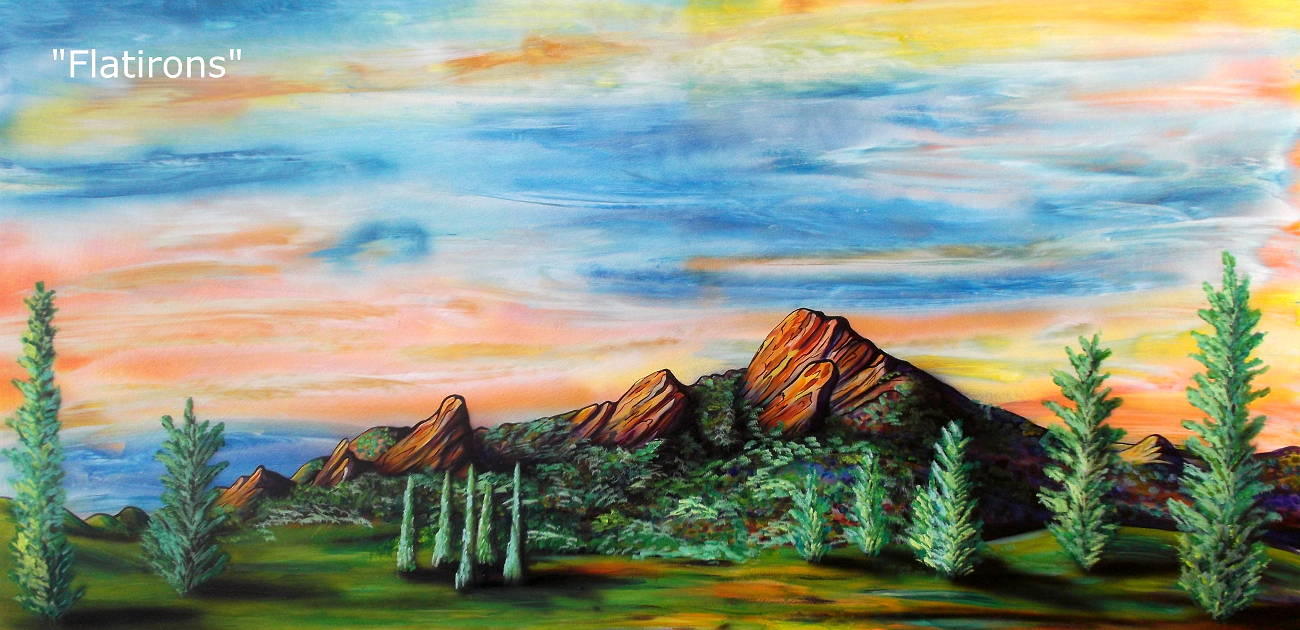Flatirons  by Isaac Carpenter