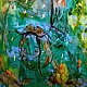 Acrylic painting When It Rains by Deborah J Gorman