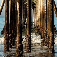 Pier at Hearst Castle by William Kent