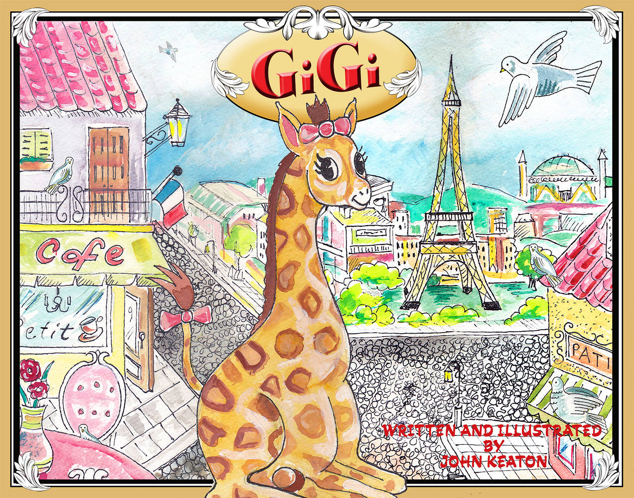 GiGi Book Cover by John Keaton