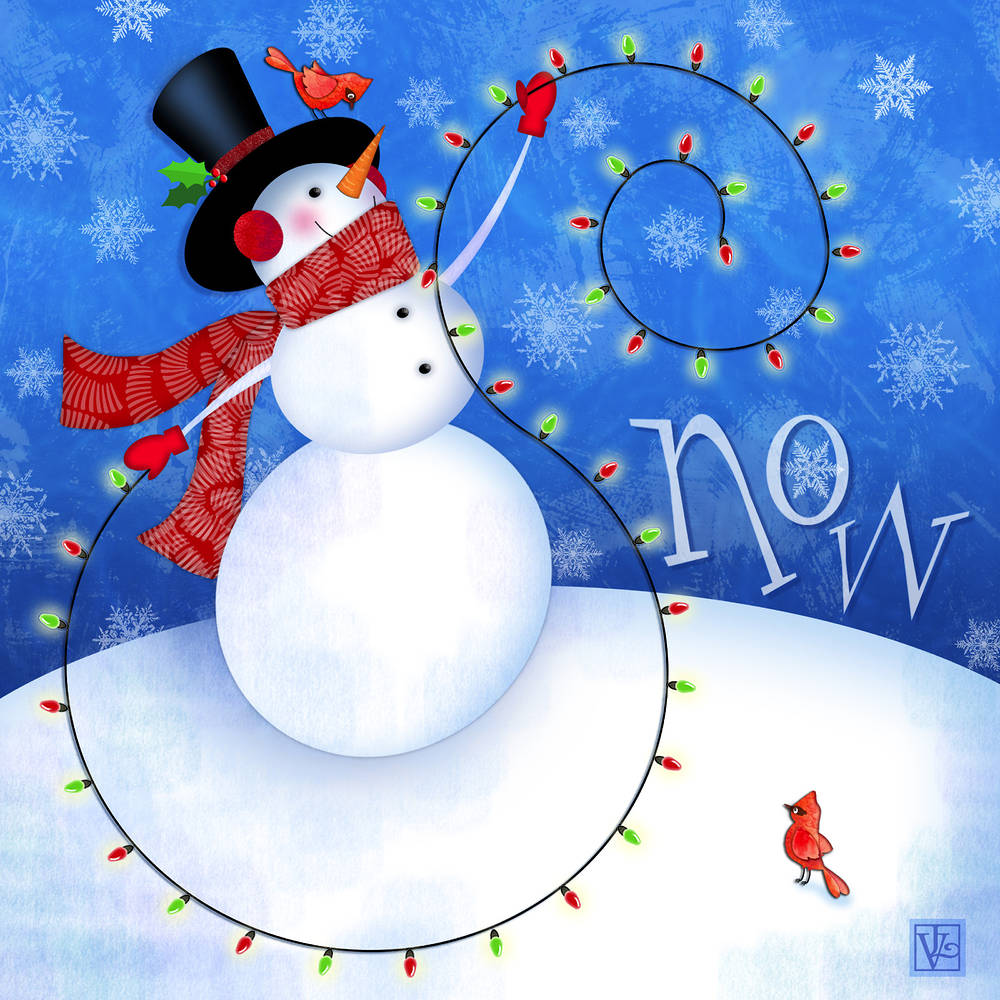 The Letter S is for Snowman by Valerie Lesiak