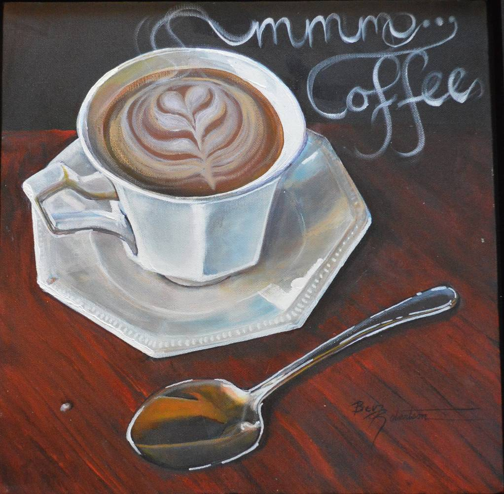 MMMMM Coffee by Bev Robertson